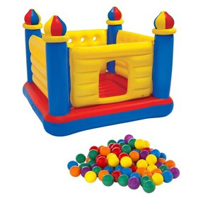 Intex Inflatable Jump O Lene Ball Pit Outdoor Cast