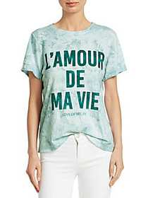 Elizabeth and James Love Of My Life T-Shirt GREEN