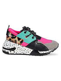 Steve Madden Cliff Patchwork Sneakers BRIGHT MULTI