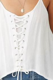 Forever21 Lace-up Cami