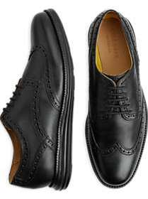 Cole Haan Original Grand Black Wingtip Oxfords