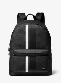 Michael Kors Cooper Logo Stripe Backpack