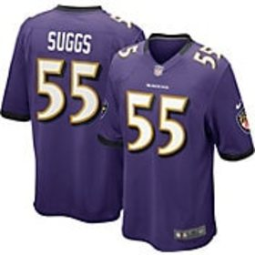 Nike Youth Home Game Jersey Baltimore Ravens Terre