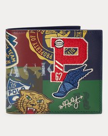 Ralph Lauren Print Leather Billfold