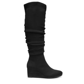 Dr. Scholl's Women's Central Wide Calf Wedge Boot
