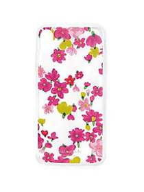 Kate Spade New York Jeweled Marker Floral Clear iP