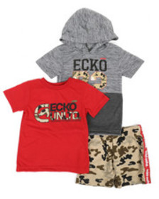 Ecko 3 pc knit set (2t-4t)