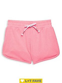 Manguun Girl's Drawstring Shorts BLACK