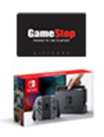 Nintendo Switch Console with Grey Joy-Con with $25