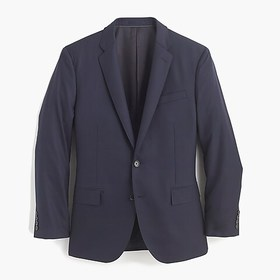 J. Crew Ludlow Classic-fit suit jacket with center