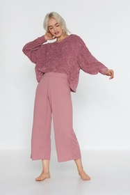 Nasty Gal Womens Mink Not Culotte to Ask Lounge Pa
