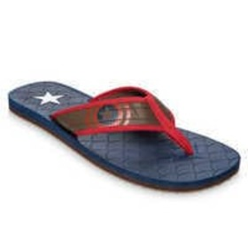 Disney Captain America Flip Flops for Adults