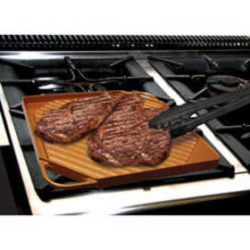 As Seen On TV Copper Dual Griddle
