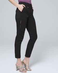 Classic-Rise Slim Cropped Jeans