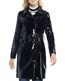 VINCE CAMUTO - Patent Belted Coat