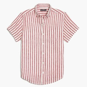 J. Crew Factory factory mens Striped slim casual s