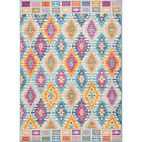 Nourison Passion Diamond Multicolor Rug