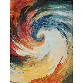 Nourison Celestial Wave Multicolor Area Rug