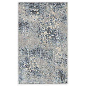 Nourison Somerset Woven Area Rug in Silver/Blue