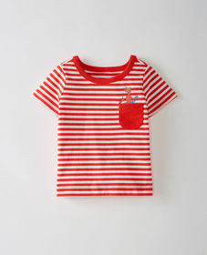 Hanna Andersson Dr. Seuss Sueded Jersey Pocket Tee