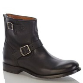 FRYE Frye Tyler Engineer Mens Leather Buckle Boots
