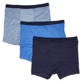 BLUE LABEL Hanes Big & Tall Blue 3-Pack Advanced O
