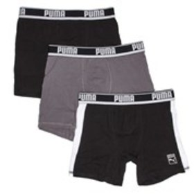 PUMA Mens 3-Pack Boxer Briefs