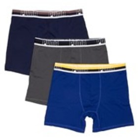 PUMA Mens 3-Pack Performance Boxer Briefs