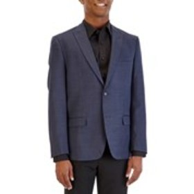 BEN SHERMAN Mens Extra Slim Stretch Fit 2-Button B