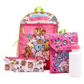 SMOOSHY MUSHY Girls 5-Piece Smooshy Mushy Backpack