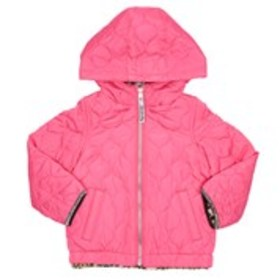 LONDON FOG Toddler Girls Quilted and Faux Fur Reve