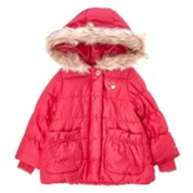 LONDON FOG Toddler Girls Parka Puffer Coat with At