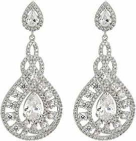 Nina Eppie Glamorous Statement Earrings