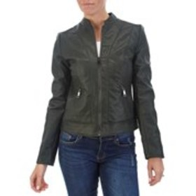 INC Faux Leather Lightweight Jacket