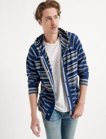 Lucky Brand Mixed Striped Hoodie