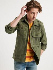 Lucky Brand Military Scribble Jacket