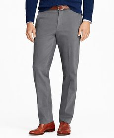 Brooks Brothers Clark Fit Brushed Twill with Stret