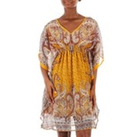 SPEED CONTROL Paisley Batwing Dress