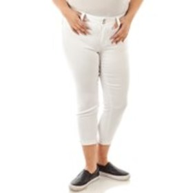 Petite Butt Lifting Ankle Cuff Jeans