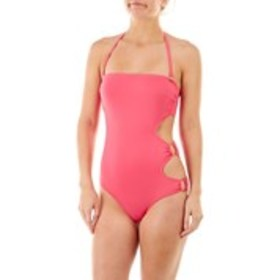 Ring Side One Piece Swimsuit with Cut Outs