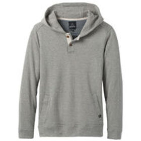 PRANA Men's Trawler Hooded Henley