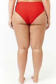 Forever21 Plus Size High-Cut Bikini Bottoms