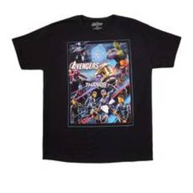Young Mens Avengers Short Sleeve Crew Neck End Gam