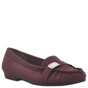 Womens Moc Toe Loafers