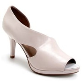 Womens Open-Toe Pumps