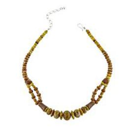 """Jay King Honeycomb Serpentine Sterling Silver 18"""""""