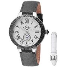 GV2 GV2 Astor Enamel Womens Diamond Black & Silver