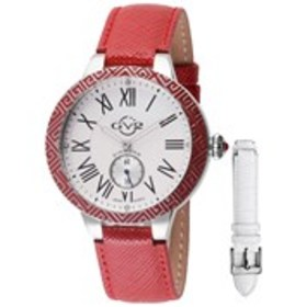 GV2 GV2 Astor Enamel Womens Diamond Red & Silver W