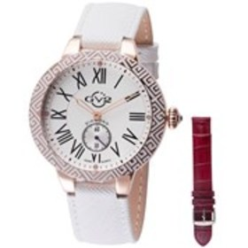 GV2 GV2 Astor Enamel Womens Diamond White & Rose G