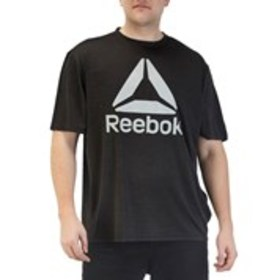 REEBOK Big & Tall Spacedye Print Moisture Wicking